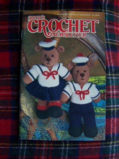 Annie's Crochet Newsletter Pattern Book # 76 July August Patterns