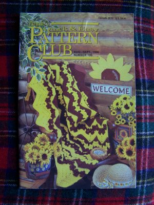 Annies Quick & Easy Pattern Club Book # 100 Crochet Knitting Plastic canvas