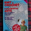 1970s Vintage Crocheting & Knitting Patterns Magazine Home and Family