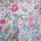 Vintage Floral Fat Quarter Cotton Fabric Lot Flower Fabrics