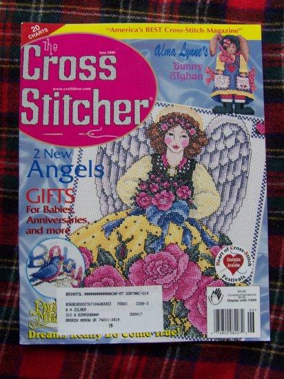 June 2000 The Cross Stitch Stitcher Pattern Charts Magazine 20 Patterns