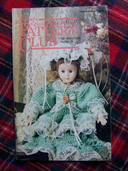 Quick & Easy Pattern Book Crochet Plastic Canvas Cross Stitch Annie's Patterns