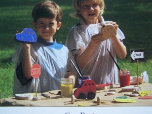 USA 50 cent S&H Pine Wood Derby Style Birthday Party Wooden Car Pattern