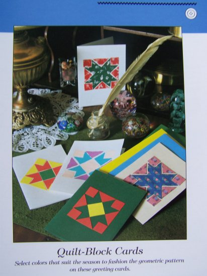 USA 50 Cent Shipping  Quilt Block Cards Craft Patterns