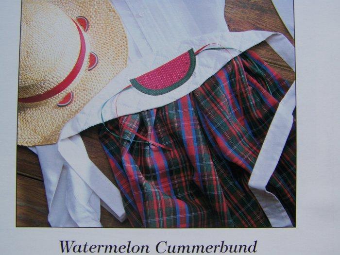 USA 50 Cent S&H  Watermelon Cummerbund Pattern