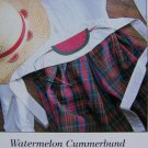 USA 50 Cent S&H  Watermelon Cummerbund Pattern