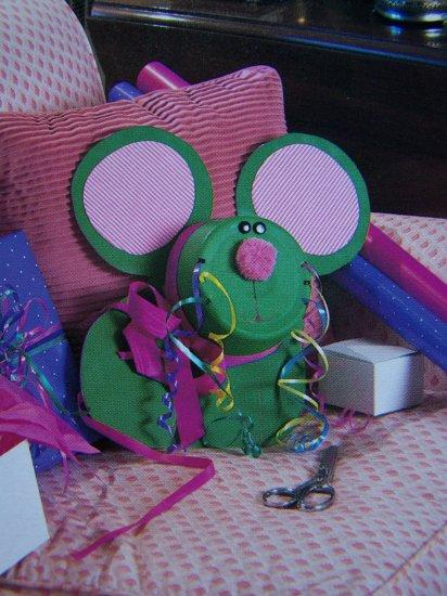 Craft Pattern Mouse Ribbon Dispenser & Holder USA 50 Cent S&H