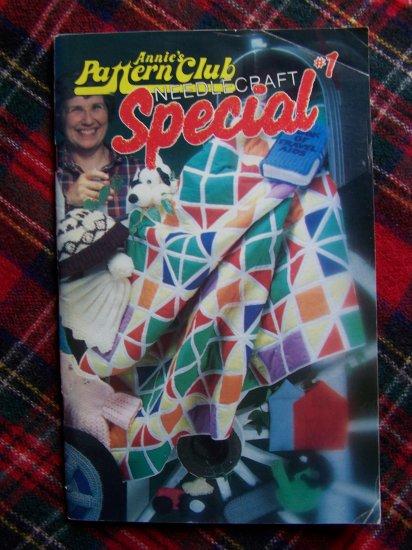Vintage # 1 Annie's Pattern Club Needlecraft Special Book 1983 Craft Patterns