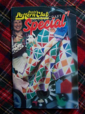 Vintage # 1 Annie's Pattern Club Needlecraft Special Book 1983 Craft Patterns