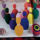 Crochet Toy Patterns Bowling Checkerboard Turtle Ring Toss Dollhouse & Furniture Bus