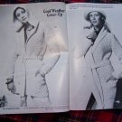 Vintage 70's Hippie Sweaters Misses Mens Knitting & Crochet Patterns Book 1979