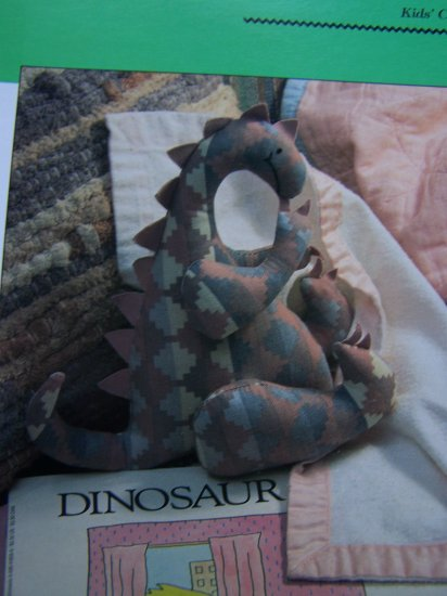 USA S&H Special 50 Cents Stuffed Baby Dinosaur Sewing Pattern Scrap Crafts