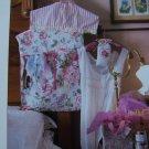 50 Cent USA S&H Cross Stitch Pattern Sachet Covered Clothes Hanger Lingerie Bag