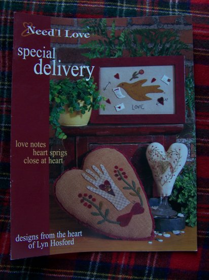 Need'l Love Special Delivery Love Notes Close at Heart Sprigs Make Do Lyn Hosford