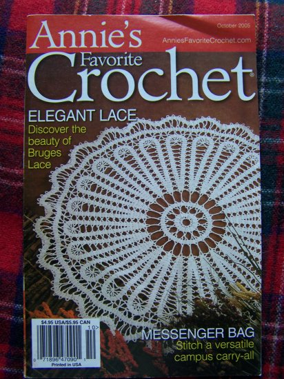 Annie's Favorite Crochet Pattern Book 137 October 2005 Crocheting Patterns