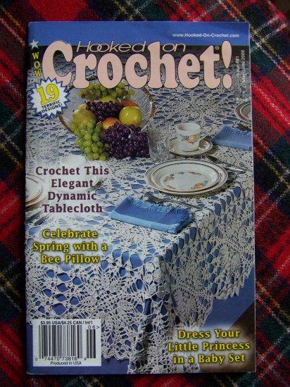 Hooked On Crochet Pattern Book 81 May June 2000 19 Crocheting Patterns