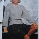 S&H 1 Cent USA Vintage Evening Cocktail Pullover Sweater Crochet Pattern