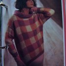 USA 1 Cent Shipping Vintage Mohair Sweater Knitting Pattern