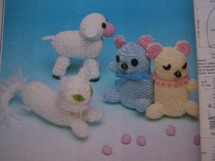Magic Crochet Pattern Magazine # 65 April 1990 35 Crocheting Patterns