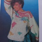 S&H 1 Cent USA Misses Vintage Knitting Pattern Bulky Pullover Sweater