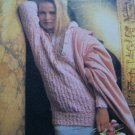 USA 1 Cent S&H Vintage Ladies Knitting Cabled & Ribbed Pullover Sweater