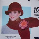 S&H 1 Cent USA Crochet Patterns Hat Scarf Legwarmers Knitting Pattern Leg Warmers
