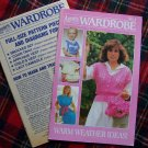 1980's Vintage Annie's Wardrobe Book # 4 With Patterns