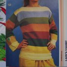 1 Cent USA S&H Vintage Knitted Lady's Cotton T Shirt Sweater Knitting Pattern