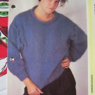 USA 1 Cent S&H Easy Lady's Vintage Knitted Mohair Sweater Knitting Pattern