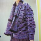 1 Cent USA S&H Vintage Matching Pullover Sweater and Scarf Set Knitting Pattern