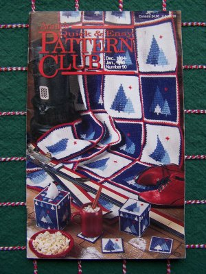 Annies Quick & Easy Pattern Club Book # 90 Dec Jan 94 95