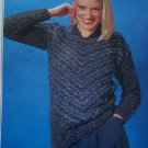 Vintage 1980's Womans Knitting Pattern Patons Topaz 1778 Bust 32 - 40