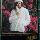Vintage Twilleys Minx Knitting Pattern Shawl Collar Jacket and Hat Patterns