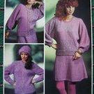 Vintage Sirdar 139 Knitting Booklet Womens Wardrobe Patterns Skirts Hat Sweaters Jacket