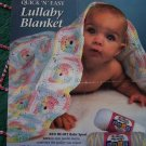 1 Cent USA S&H 1994 Red Heart Crochet Pattern Baby Lullaby Blanket Afghan Leaflet