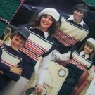 Vintage Emu Machine & Handknit Family Sweaters Patterns Instructions 11 Sizes