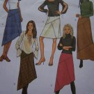 1 Cent USA S&H Misses 6 8 10 Skirts 5 Styles Shaped Fringe Straight Hem Sewing Pattern 3972