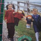 Uncut Girls 6 7 8 Sewing Pattern 3954 Top Pants Dress With Matching Doll Patterns