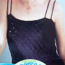 1 Cent USA S&H Vintage Double Spaghetti Strap Camisole Summer Top KNitting Pattern 273