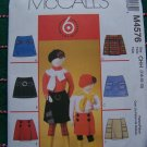 1 Cent USA S&H Girls 7 8 10 12 Skorts Sewing Patterns 6 Great Styles McCall's 4576