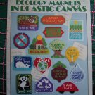 Plastic Canvas Leisure Arts 15 Ecology Earth Day Magnet Patterns 1504