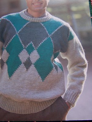 Vintage Knitting & Crochet Patterns Men's