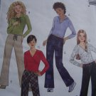 McCall's Sewing Pattern 3747 Girls 12 14 16 Uncut Long Sleeve Tops Pants