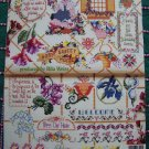 50 Floral Cross Stitch Charts Book 3592 Flower Patterns