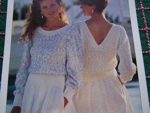 ABC Knitting Patterns - American Girl Doll Summer Cardigan.