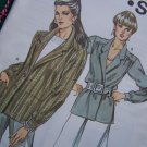 Misses Retro Unlined Shirt Type Suit Jacket Blazer 6 8 10 12 Sewing Pattern 1269