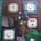 80's Cross Stitch Leaflet Stoney Creek Touch of Tartan Trout Scotty Dogs Lifetime in Mini