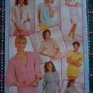 Vintage Woman's Realm 7 Summer Knitting Patterns Booklet Sweaters Tunic Tops Jacket Beach Dress