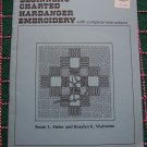 1980 Beginner's Charted Hardanger Embroidery Needlepoint with Complete Instructions and Stitches