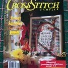 Back Issue Pattern Magazine Cross Stitch Sampler Fall 1992